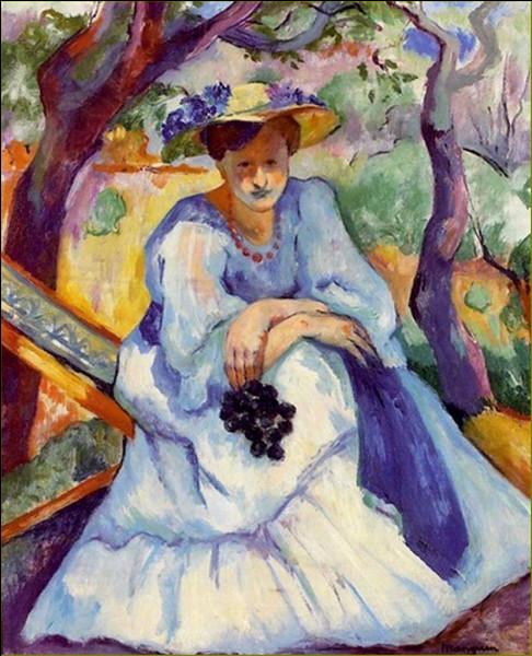 """Qui a peint """"Femme à la grappe de raisins"""" ?"""