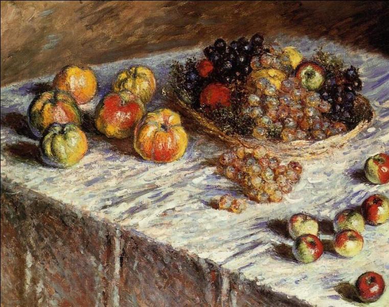 """Qui a peint """"Pommes et raisins"""" ?"""