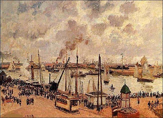 """À qui doit-on """"L'Avant-port du Havre"""" ?"""