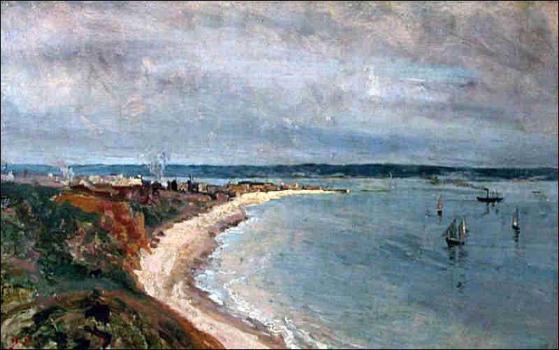 À qui doit-on cette peinture du Havre ?