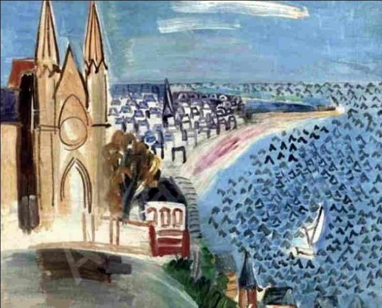 """Qui a peint """"Entrée dans le port du Havre"""" ?"""