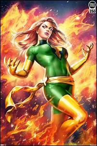 Quelle actrice n'a jamais joué Jean Grey/Phoenix (X-Men) ?