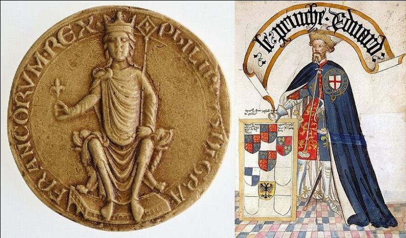 Il résista aux assauts d'un roi de France [lequel ?] en 1215 ainsi qu'aux soudards de [qui donc ?] durant la guerre ...
