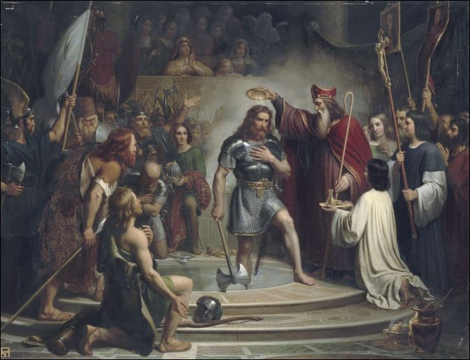 Je m'entends aussi bien avec Ajc, qui s'y connaît bien en histoire et en géographie. Sous quel roi se produit l'incroyable histoire du vase de Soissons ?