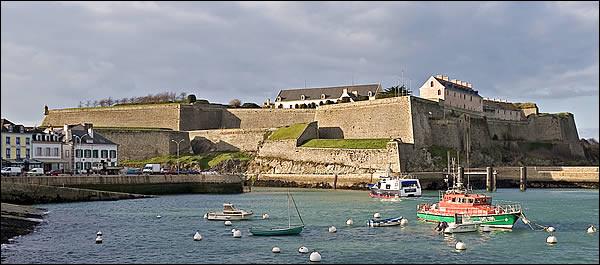 """Honnêtement, quand Voulzy a fait sa chanson """"Belle-Île-en-Mer, marine marchande..."""", il ne l'a pas bien regardé, le fort ..."""