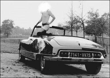 Quelle actrice fit la promotion de ce cabriolet DS21 Citroën, en 1969 ?