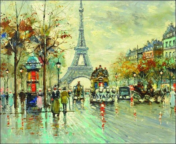 C'est le peintre de Paris, par excellence !