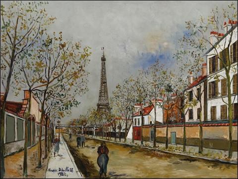 Symbole de la France : La tour Eiffel