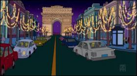 Où roulent les Simpson ?