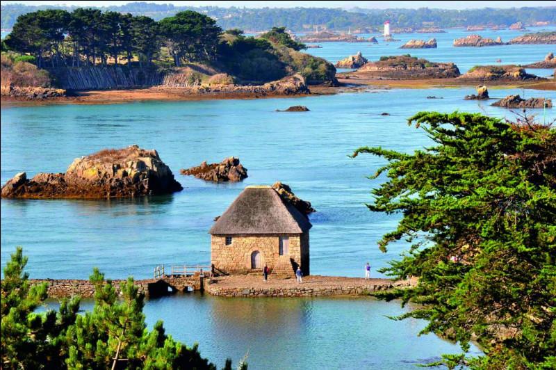 Bienvenue ! Le but de ce quiz est de vous montrer quelles sont les plus belles îles métropolitaines françaises. Vous êtes prêts ? Faites vos bagages et c'est parti ! Nous commençons fort, avec les îles de Bréhat. Très joli archipel à la végétation luxuriante, il se trouve à deux kilomètres au nord de...Indice : Côtes-d'Armor.