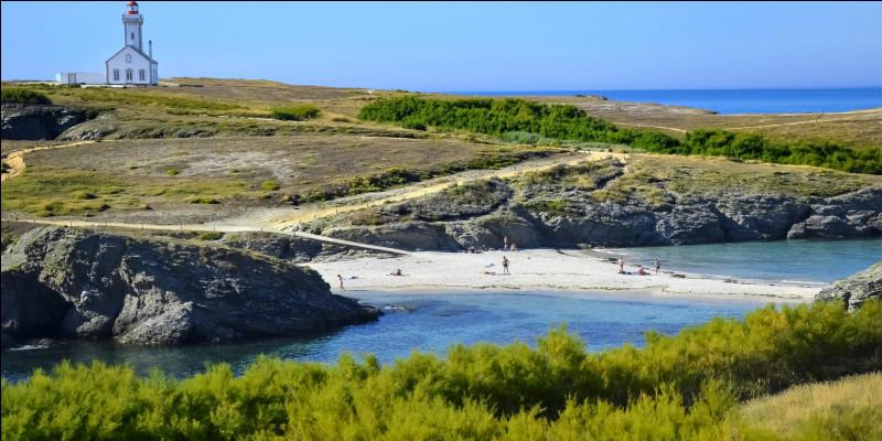 Nous nous rendons donc à l'avant-dernière étape de notre voyage pour visiter la fameuse Belle-Île-en-Mer. Réputée pour être l'une des plus belles de France, nous pourrons trouver cette île dans le département du/des/d' ____________. Celle-ci abrite des charmants petits villages de pêche.Indice : son numéro est le 56 et sa préfecture Vannes.