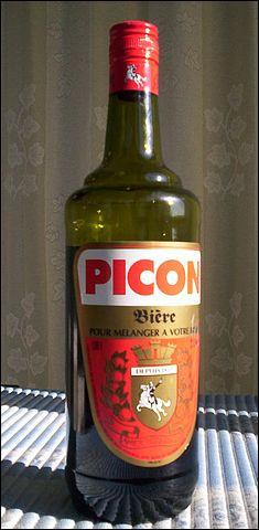 """Le Picon est un """"amer"""" originaire de ... et de ... : on l'élabore avec de la gentiane, de la quinquina et ..."""