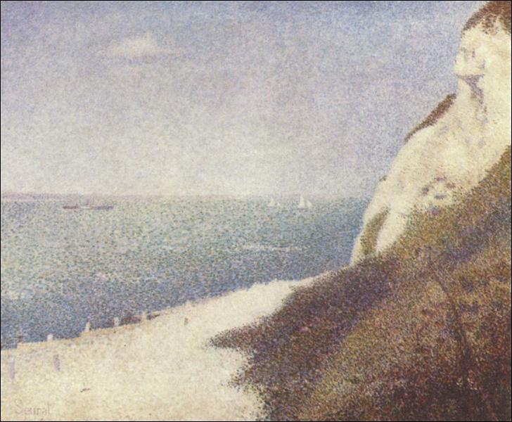 """Qui a peint """"Plage du Bas Butin, Honfleur"""" ?"""