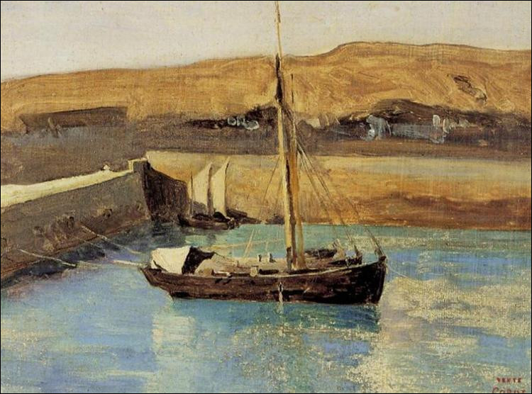 """Qui a peint """"Bateau de pêche Honfleur"""" ?"""