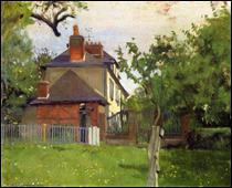 """Qui a peint """"Villa Beaulieu, Honfleur"""" ?"""