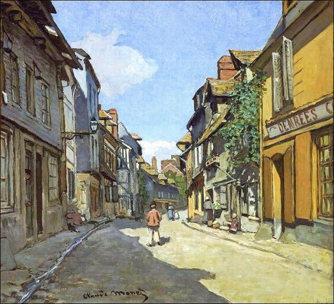 """Qui a peint """"La Rue Bavolle à Honfleur"""" ?"""