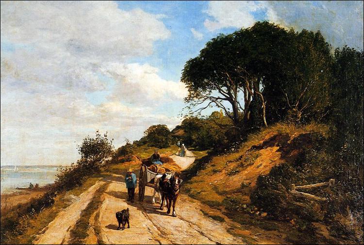"""Qui a peint """"La route de Trouville à Honfleur"""" ?"""