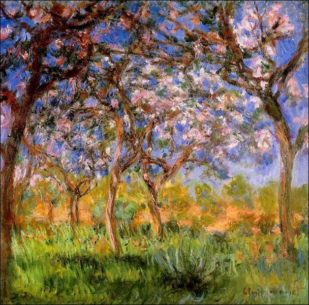 Quelle est cette peinture de Claude Monet ?