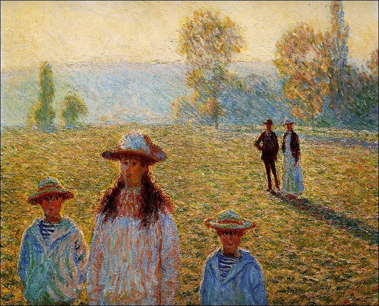 Regardez cette peinture et nommez-la !