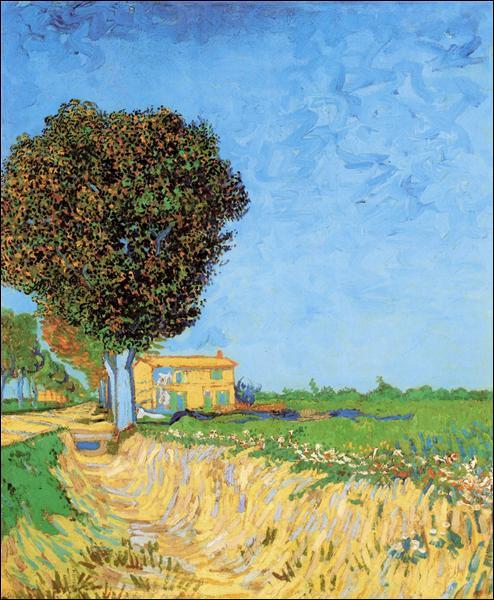 Commençons un petite promenade à Arles avec les toiles de van Gogh ! Trouvez cette peinture !
