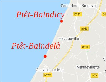 """Comment ça, """"un gars du coin"""" ? Parce que ça se passait en Normandie, peut-être ?"""