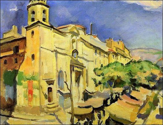 Les marchés de France, avec les peintres