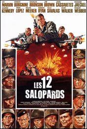 """Sa comme salopards : lequel de ces acteurs ne jouait pas dans le film """"Les Douze Salopards"""" ?"""