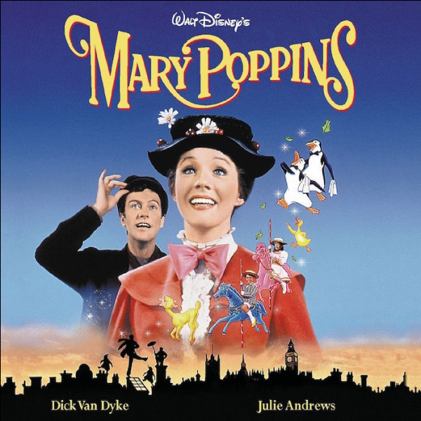 En quelle année est sorti ce film musical réalisé par Robert Stevenson ?