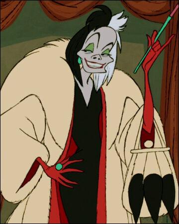 """Retrouvez qui est la doubleuse qui a prêté sa voix au personnage de Cruella d'Enfer dans """"Les 101 dalmatiens""""."""