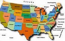 Les capitales des Etats-Unis
