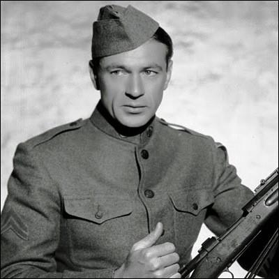 Dans quel film Gary Cooper joue-t-il ce héros ?