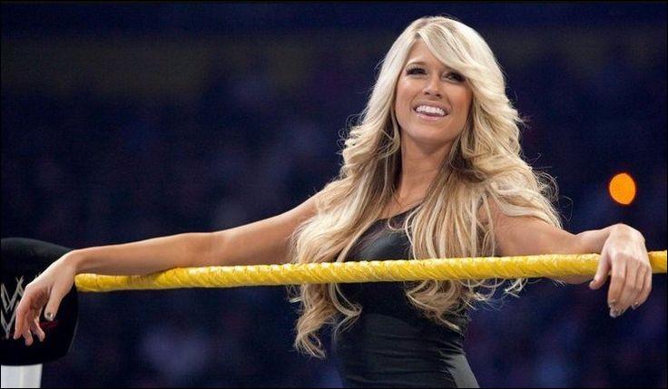 Voici Barbara Blank une ex-catcheuse de la fédération WWE. Quel était son nom de ring ?