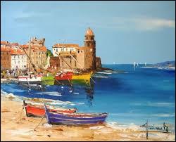 En compagnie de quel peintre Henri Matisse, qui vient peindre à Collioure, créé-t-il le fauvisme ?