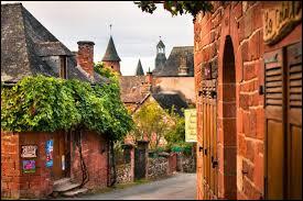 Pourquoi le village Corrézien de Collonges-la-Rouge porte-t-il ce nom ?