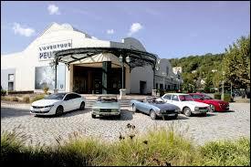D'après-vous, dans quelle ville du Nord-Est faut-il se rendre pour visiter le musée de l'Aventure Peugeot ?
