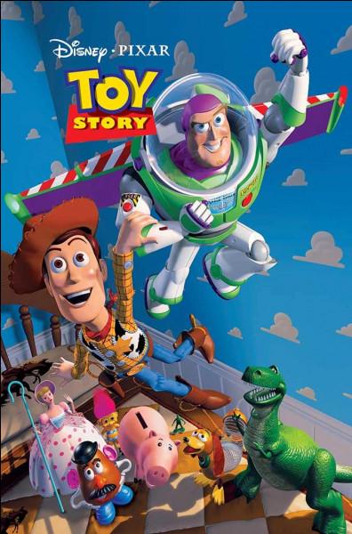 """Comment Woody est-il, avec Buzz l'Éclair dans """"Toy Story 1"""" ?"""