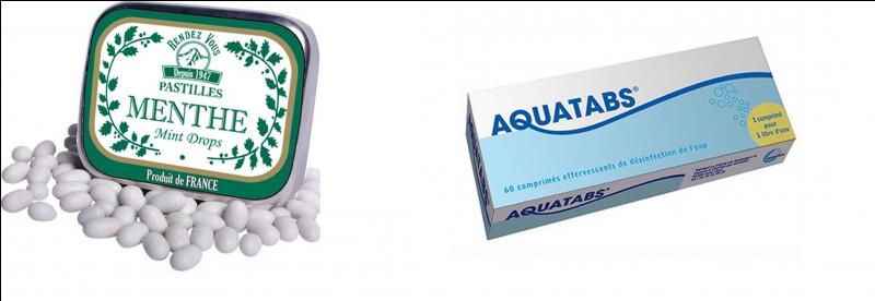 À quoi servent les pastilles de purification d'eau ?