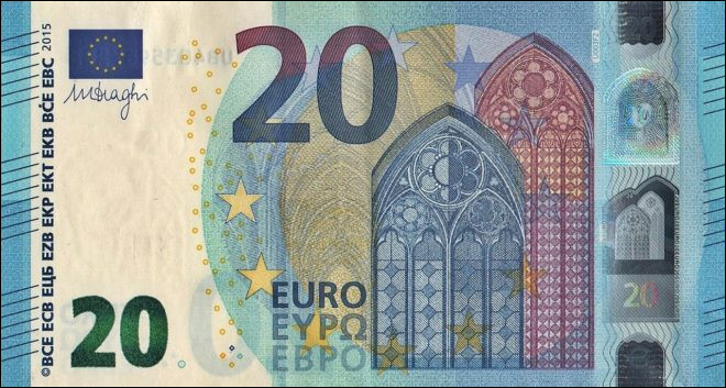 Un peu d'argent est toujours utile si par malheur les distributeurs de billets ne fonctionnent plus. C'est un billet de...