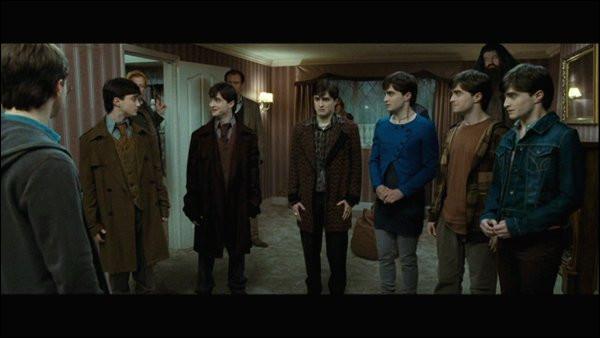 Lucius Malefoy était-il présent lors de la bataille des sept Potter ?