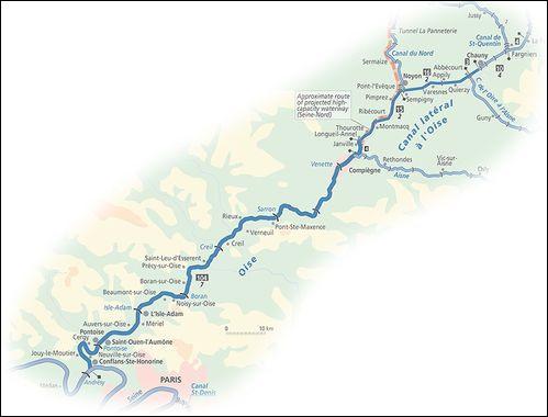 Longue de 341 km, l'Oise est un fleuve en plus d'être un département. Savez-vous dans quel pays prend-elle sa source ?