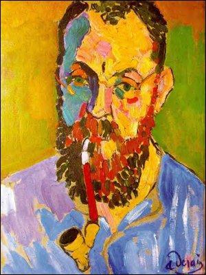 Qui est représenté sur ce portrait peint par André Derain ?