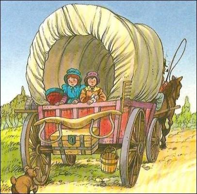 Dans quelle série de livres Laura Ingalls Wilder a-t-elle raconté sa vie d'enfant de pionniers américains ?