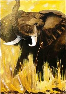 Dans un roman de René Guillot, qui est le « Prince des éléphants» ?