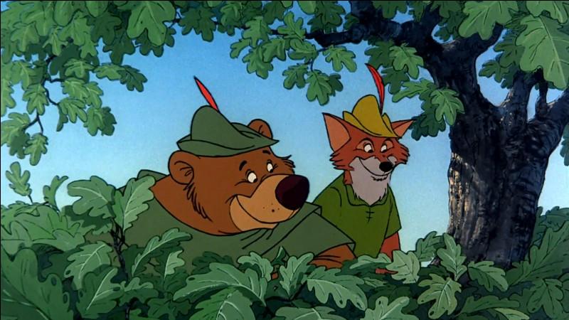 """Quel animal est Robin, dans le dessin animé """"Robin des Bois"""" ?"""