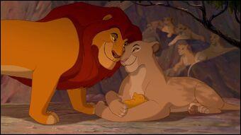 Comment se nomme la mère de Simba ?