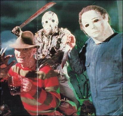 Lequel de ces tueurs voit-on en premier au cinéma dans les années 80 ?