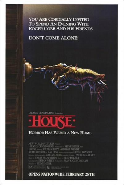 Dans House par quel trophée est effrayé le héros ?