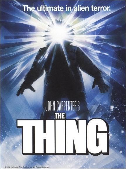 Une des scènes chocs de The thing est la transformation en monstre :