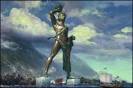 Quel dieu grec le colosse de Rhodes représentait-il ?