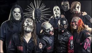 Quel est ce groupe américain de nu metal dont les membres sont masqués ?